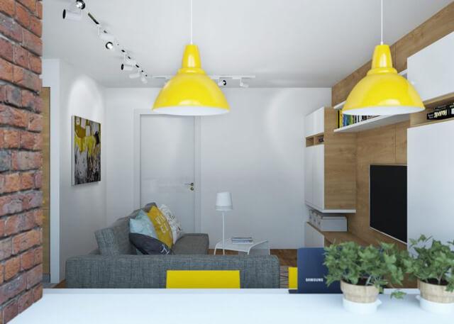 không gian trong nhà