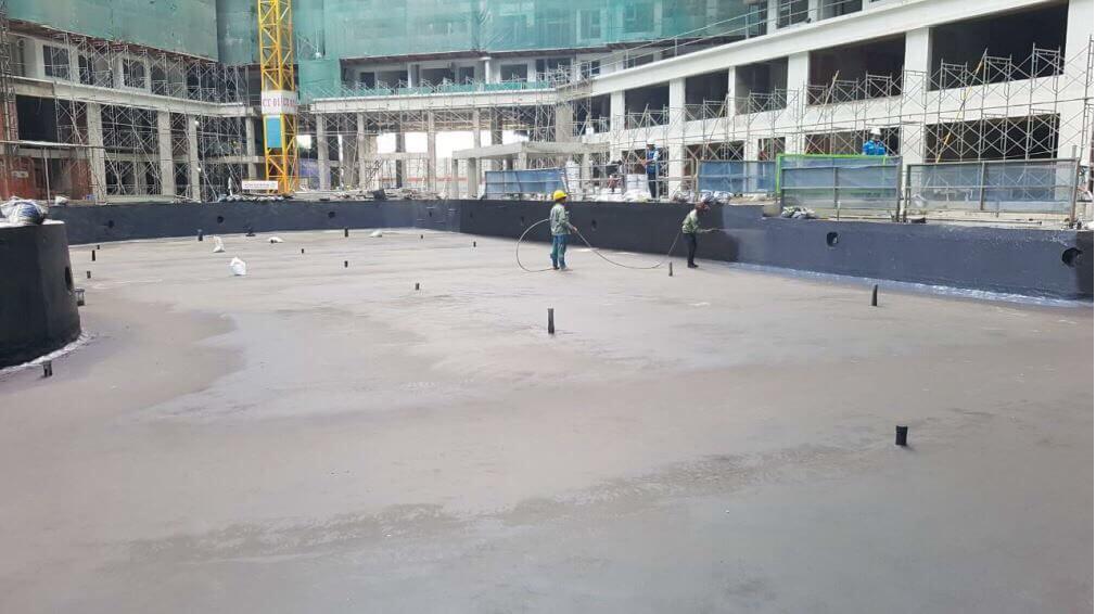 tiến độ xây dựng Safira Khang điền